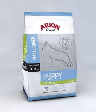 Arion Original Puppy Small Kana & Riisi 7,5 kg